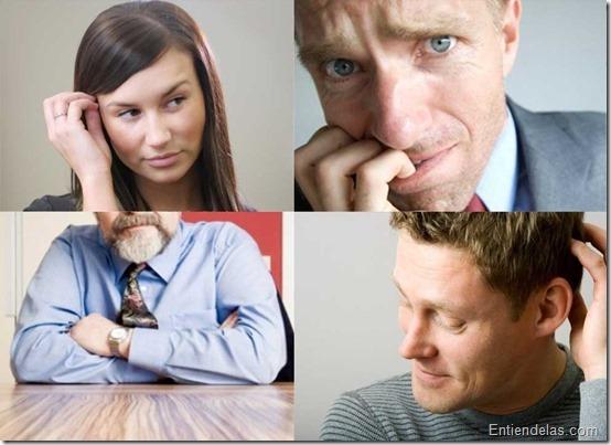 gestos entrevista de trabajo