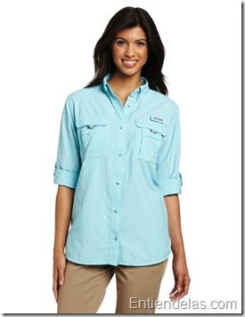 camisa-columbia-manga-larga-amazon-azul