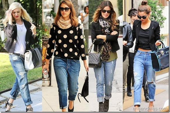 sabes cómo debes usar los boyfriend jeans