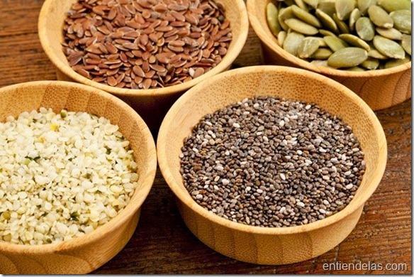 Beneficios de agregar semillas a tus comidas