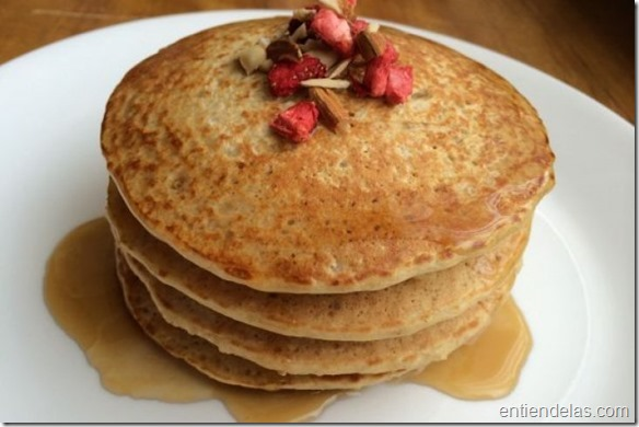 Panquecas de almendras sin gluten ni lactosa