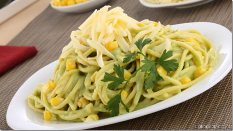 Sin carne c mo hacer una pasta con salsa verde video - Como se hace la salsa pesto para pasta ...